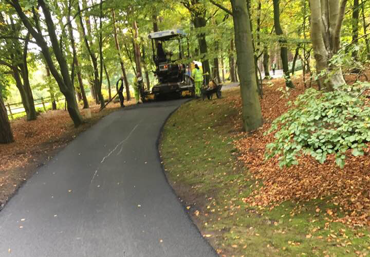 Asphalt Driveway Replacement in Frisco TX