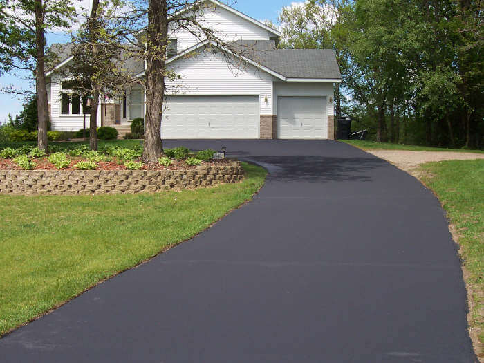 How to Fill Depression in Asphalt Driveway